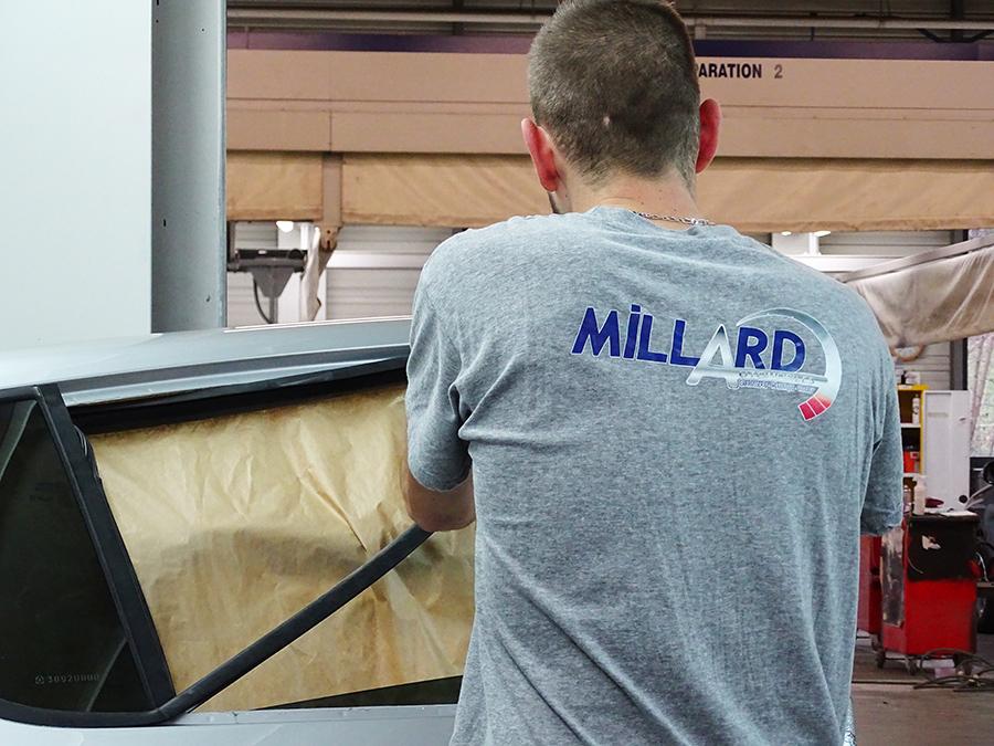 Transfert sérigraphique - Millard | NC Distribution
